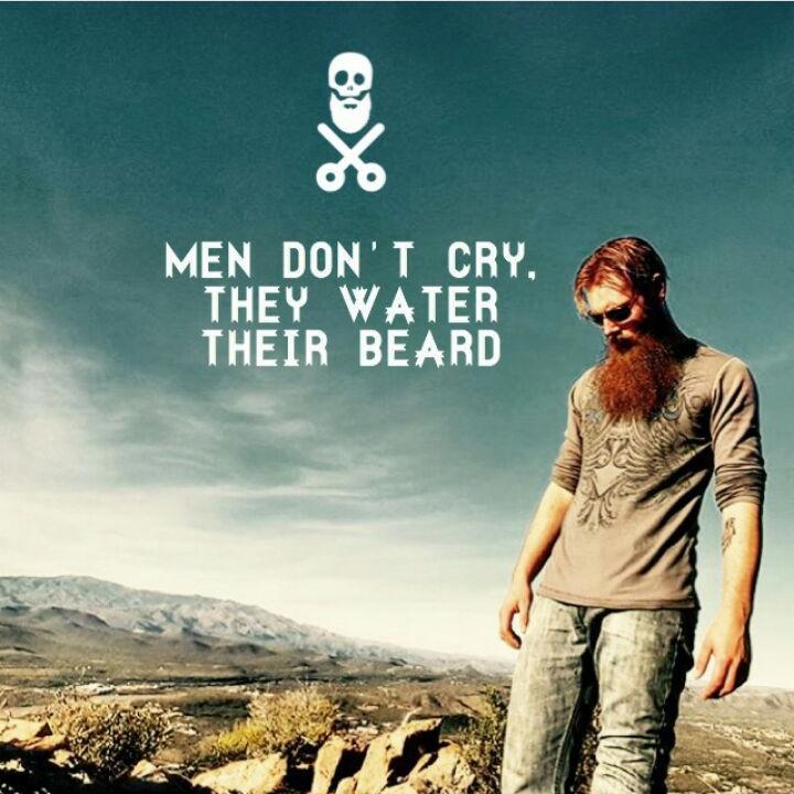Los hombres no lloran, riegan su barba (Parte1)